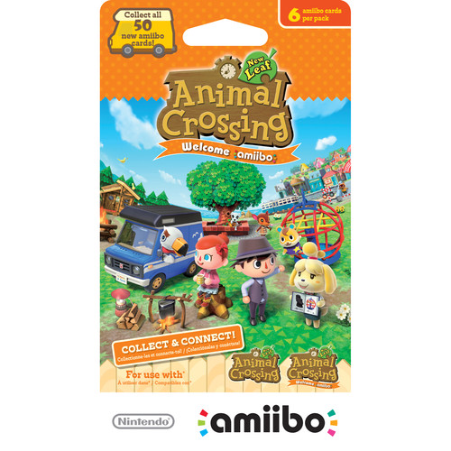 Nintendo Animal Crossing: New Leaf Welcome amiibo Cards (6-Pack)
