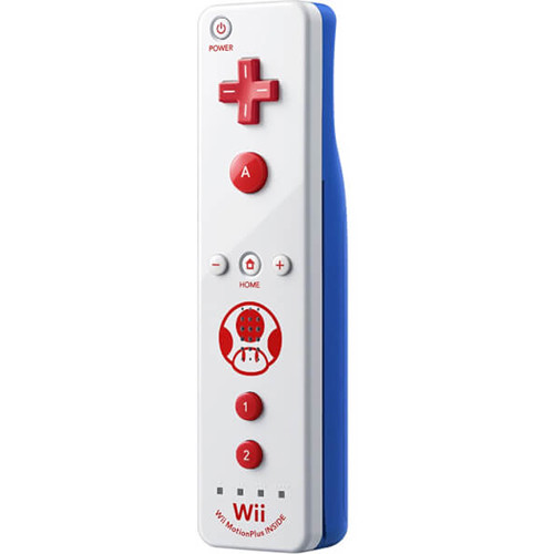 Nintendo Wii Remote Plus (Toad Themed)