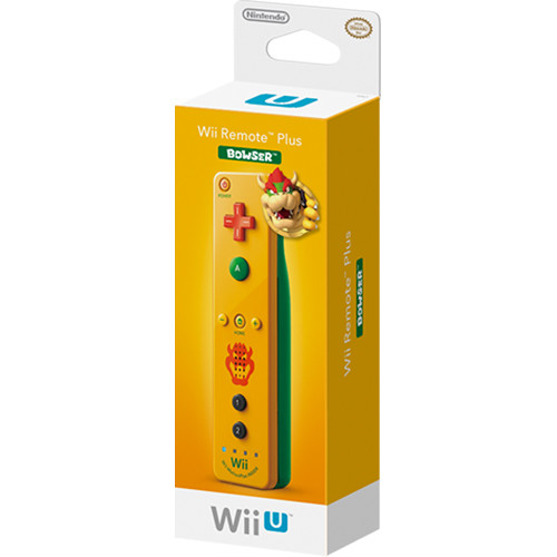 Nintendo Wii Remote Plus Controller (Bowser)