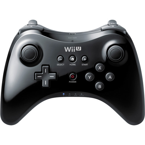 Nintendo Wii U Pro Controller (Black)