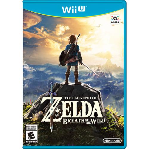 Nintendo The Legend of Zelda: Breath of the Wild (Nintendo Wii U)