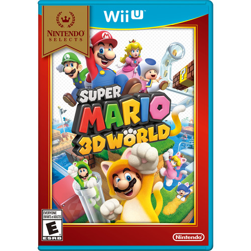 Nintendo Selects: Super Mario 3D World (Wii U)