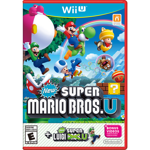 Nintendo New Super Mario Bros. U + New Super Luigi U Bundle (Wii U)