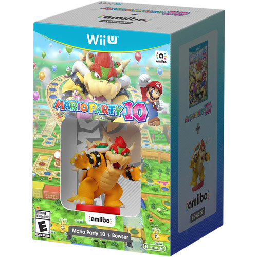 Nintendo Mario Party 10 with Bowser amiibo Bundle (Wii U)