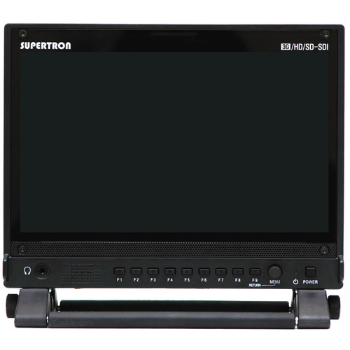 """Nipros HDM-900WD 9"""" Widescreen 3D-Ready IPS LCD Monitor with Cross Media Converter"""