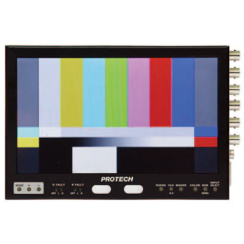 """Nipros LVM-89W 8.9"""" HD Color LCD Monitor with HDMI & Analog Inputs"""