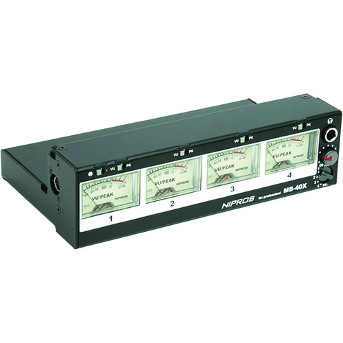 Nipros 4-Channel External Audio Meter for FS-40X