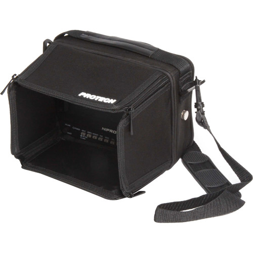 "Nipros SC-7 Soft Carrying Case for HDF-700, HDF-700V, or HDM-70WV 7"" Viewfinder"