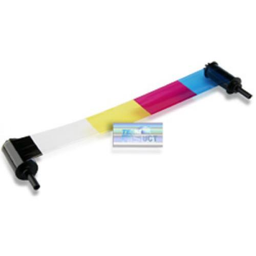 Nisca Printers YMCKO3 Ribbon (3BP) for PR5350, PR5360LE, & PR53LE Printers