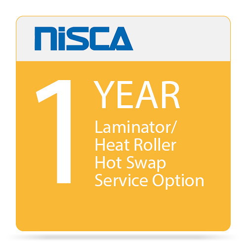 Nisca Printers Laminator / Heat Roller Hot Swap Service Option for Year 1