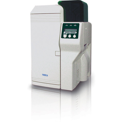 Nisca Printers 300 dpi Dual-Sided Plastic Card Printer (For 20 to 50 mil Cards)