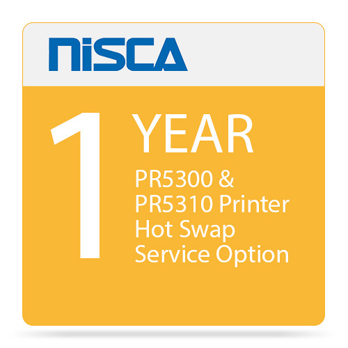 Nisca Printers PR5300 & PR5310 Printer Hot Swap Service Option for Year 1