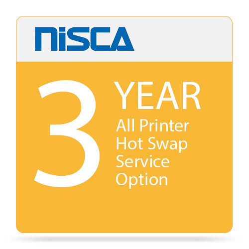 Nisca Printers All Printer Hot Swap Service Option and Extended Warranty for Year 3