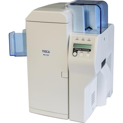 Nisca Printers PR-C151-10 Mid-Level Dual-Sided ID Card Printer (10-Mil Cards)