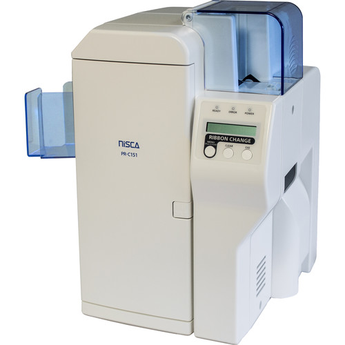 Nisca Printers Mid-Level Dual-Sided Printer for PVC, CR-79/80, and 20 to 50 mil Cards
