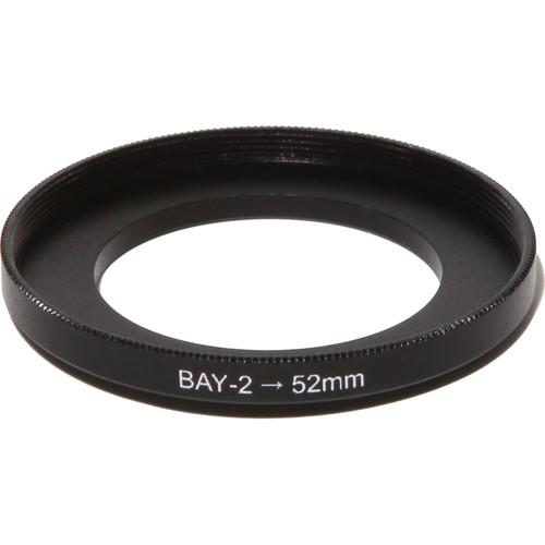 Nisha Bayonet II to 52 Adapter Ring (Black)