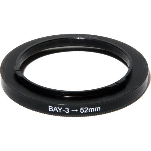 Nisha Bayonet III to 52 Adapter Ring (Black)