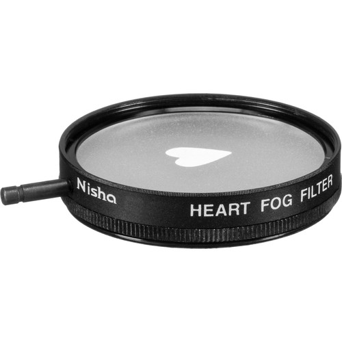Nisha 62mm Heart Fog Filter