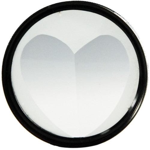 Nisha 49mm 2H Multi-Image Heart Filter
