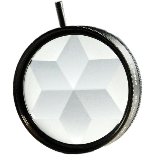 Nisha 49mm 6 Star Multi-Image Filter