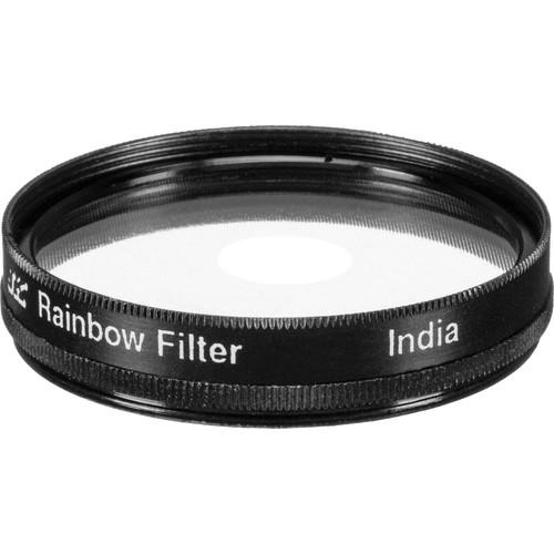 Nisha 49mm Rainbow Center Spot Filter