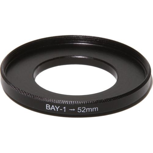Nisha Bayonet I to 52 Adapter Ring (Black)