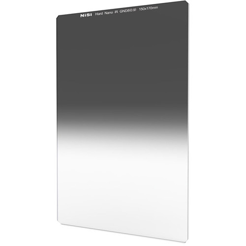 NiSi 150 x 170mm Nano Hard-Edge Graduated IRND 0.9 Filter (3 Stop)