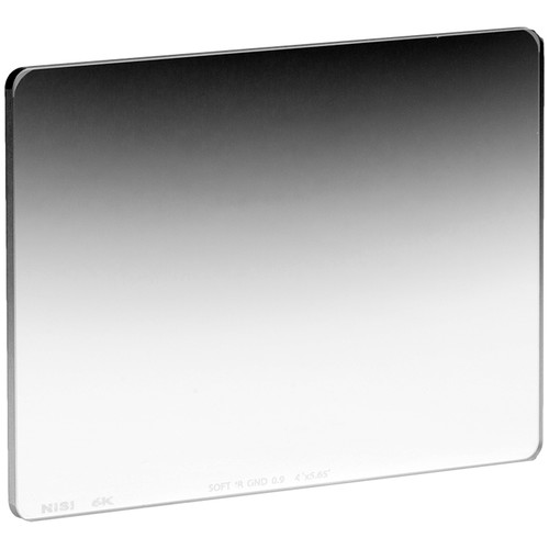 "NiSi 4 x 5.56"" Nano Soft-Edge Graduated IRND 0.9 Filter (3 Stop)"