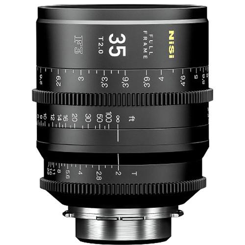 NiSi 35mm T2.0 F3 Prime Cinema Lens (PL Mount)
