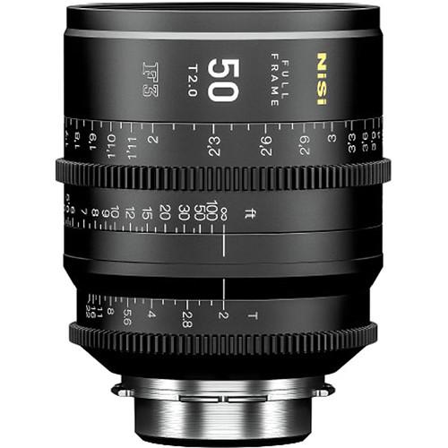NiSi 50mm T2.0 F3 Prime Cinema Lens (PL Mount)