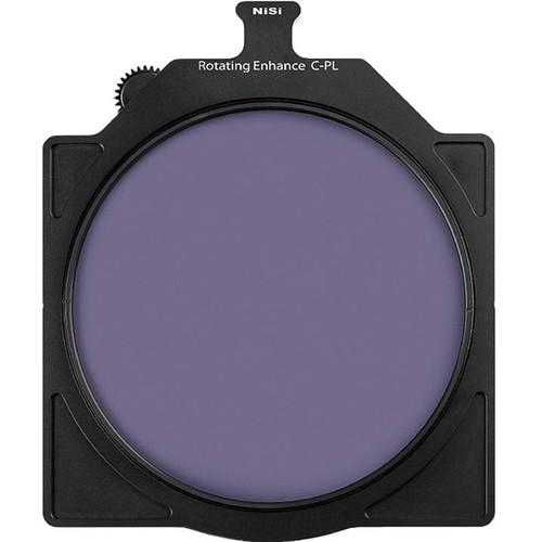 "NiSi 6.6 x 6.6"" Rotating Enhanced Circular Polarizer Filter"