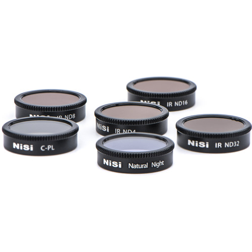 NiSi 6-Filter Kit For Mavic Air Drones
