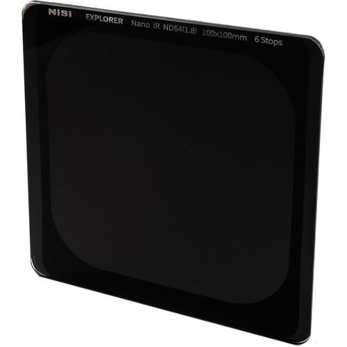 NiSi 100 x 100mm Explorer IRND 1.8 Filter (6-Stop)