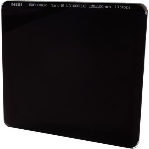 NiSi 100 x 100mm Explorer IRND 3.0 Filter (10-Stop)