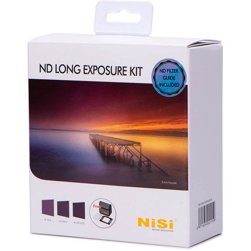 NiSi 100 x 100mm Solid Neutral Density Long-Exposure Filter Kit (3, 6, 10-Stop)