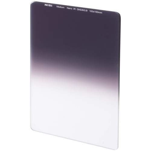 NiSi 100 x 150mm Nano Medium-Edge Graduated IRND 0.9 Filter (3 Stops)