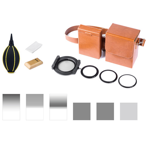 NiSi Professional 100mm Filter Kit for Landscape & Seascape Photography (3x ND, 3x GND)