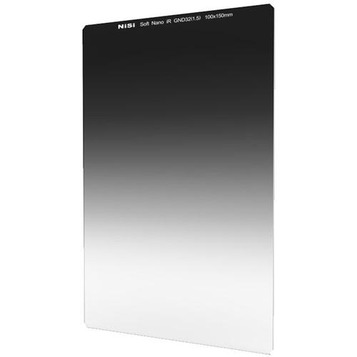 NiSi 100x150mm Nano Soft-Edge Graduated IRND 1.5 Filter (5-Stop)