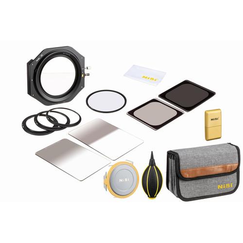 NiSi 100mm Starter Kit Plus III with V6 Filter Holder, Enhanced Landscape CPL & 4 ND/GND Filters