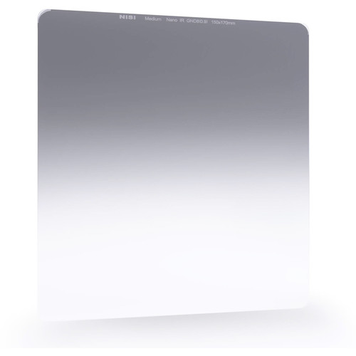 NiSi 150 x 170mm Nano Medium-Edge Graduated IRND 0.6 Filter (2 Stops)