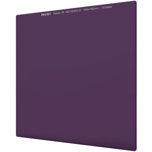 NiSi 70 x 80mm Nano IRND 3.0 Filter (10-Stop)