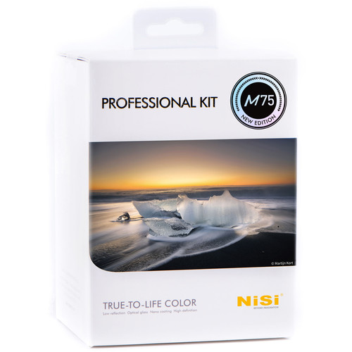 NiSi 75mm Professional Kit with M75 Filter Holder, Enhanced Landscape CPL & 5 ND/GND Filters