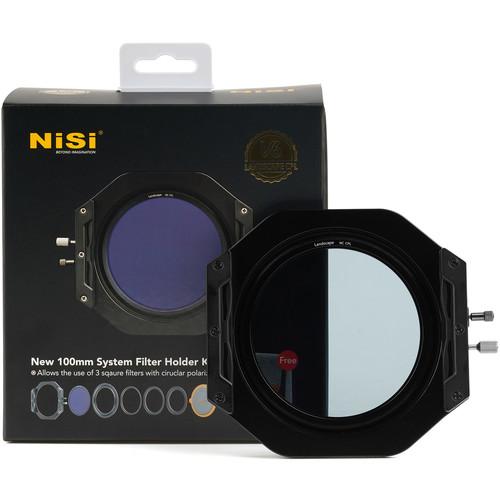 NiSi V6 100mm Filter Holder Kit with Enhanced Landscape CPL Filter