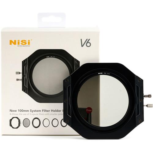 NiSi V6 100mm Filter Holder Kit with PRO CPL Filter