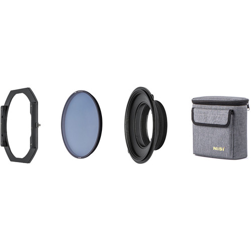 NiSi S5 150mm Filter Holder Kit with Landscape Circular Polarizer for Sigma 14-24mm Lens for Sony E and Leica L