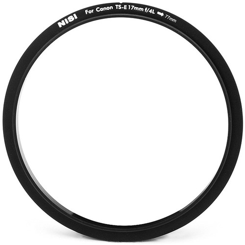 NiSi 77mm Filter Adapter Ring for Q and S5 Holder for Canon TS-E 17mm