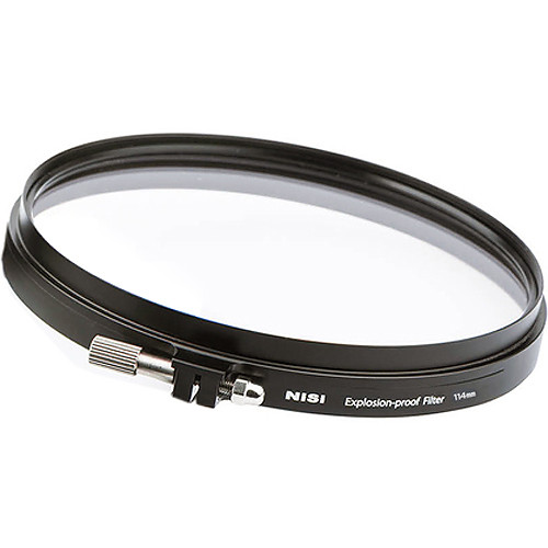 NiSi 114mm Shatter-Proof Protector Filter