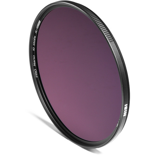 NiSi 58mm PRO Nano IRND 3.0 Filter (10-Stop)