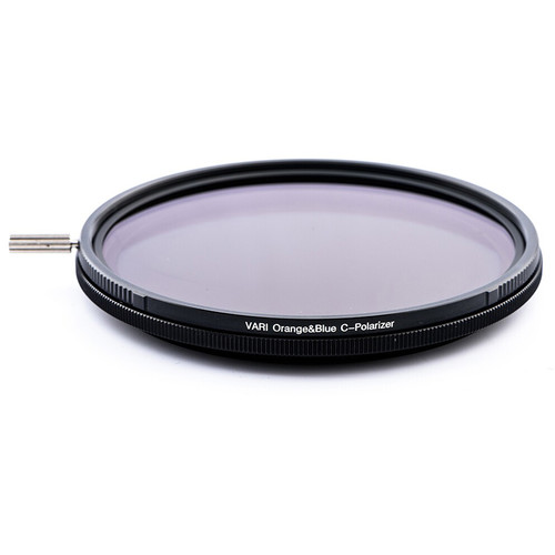 NiSi 72mm VARI Orange & Blue Polarizer Filter
