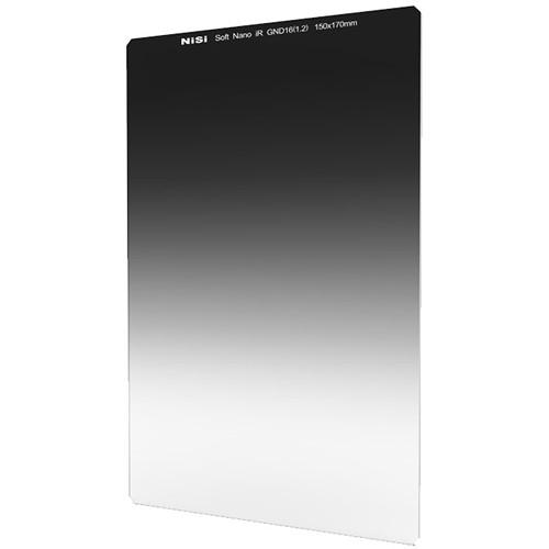 NiSi 150 x 170mm Nano Soft-Edge Graduated IRND 1.2 Filter (4-Stop)